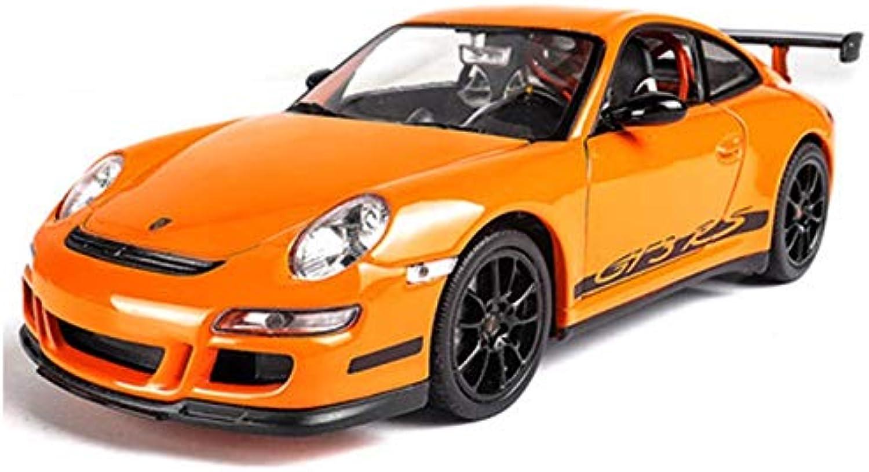 punto de venta XJRHB 1 24 Porsche 911GT3 Modelo Modelo Modelo de Coche Deportivo Simulación de aleación Modelo de Coche Coche decoración de Coche (Color   Porsche 911GT3 RS (naranja))  online al mejor precio