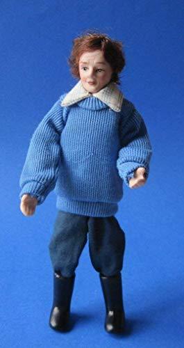 Figurine TOM pour MAISON DE POUPÉES, marque DOLLS HOUSE, réf. 4446