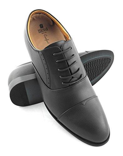ZERIMAR Zapatos con Alzas Interiores para Caballeros Aumento 7 cm   Zapatos de Hombre con Alzas Que Aumentan su Altura   Zapatos Elegantes para Hombre   Zapatos Hombre Invierno