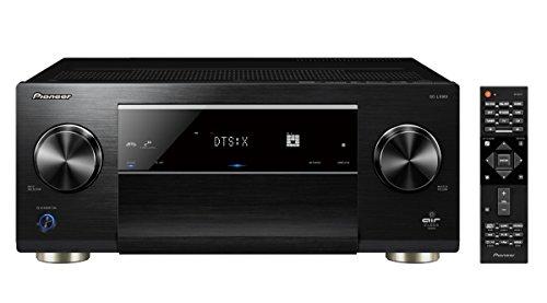 Pioneer SC-LX901(B) Ricevitore AV 11.2 (200 Watt/canale, amplificatore di classe D, certificazione Air Studios, 4K UltraHD, Dolby Atmos, DTS:X, Wifi, Bluetooth, Streaming), nero