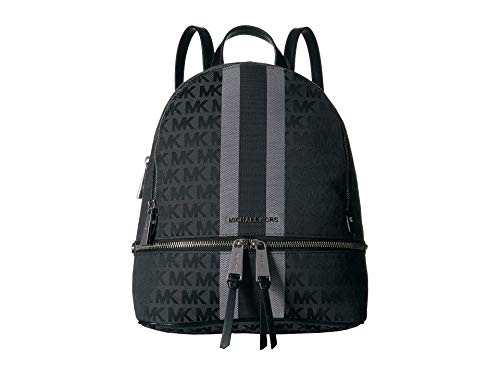 MICHAEL Michael Kors Rhea Zip Medium Backpack Black Multi One Size