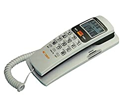 Orientel KX-T555CID Landline Caller ID Phone for Office and Home Purpose, Assorted Colour