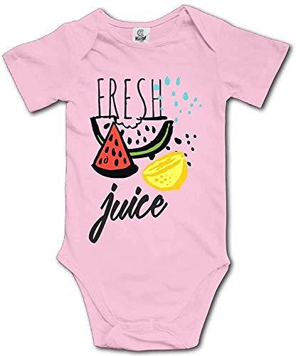 JUKIL Limonade Wassermelone Kleinkind Klettern Kurzarm Onesie Onepiece Baby Bodysuit Kleidung