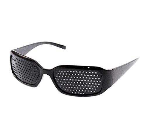 occhiali a raggi x FREESOO - Occhiali a Fori Stenopeici per la Cura della Vista e per Un Miglioramento della capacità Visiva