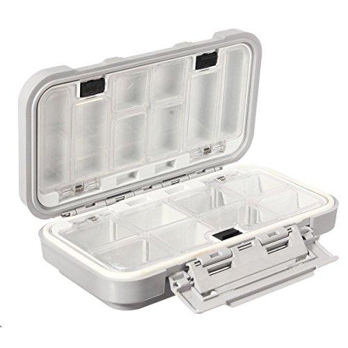 KEMEILIAN DYYP0309 Caja de Almacenamiento de Pesca Lure HOOY CAIT ABACTO Caja de Impermeable con 16 Compartimentos Durable