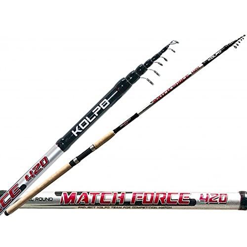 agc Kolpo Match Force Canna da Pesca all Roud 400 cm 20-80 gr