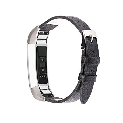 Aottom Cinturino Compatibile con Fitbit Alta/Fitbit Alta HR, Cinturini di Ricambio Pelle per Cinturino Fitbit Alta HR Smartwatch Classici Fitness Accessories di Regolabili Ricambio Donna Uomo