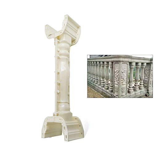 Concrete Roman Column Mold, 89cm Concrete Plaster Cement Casting Mold Mould for Walkway Balcony Garden Pool Railing Balustrade Fence Decoration Construction