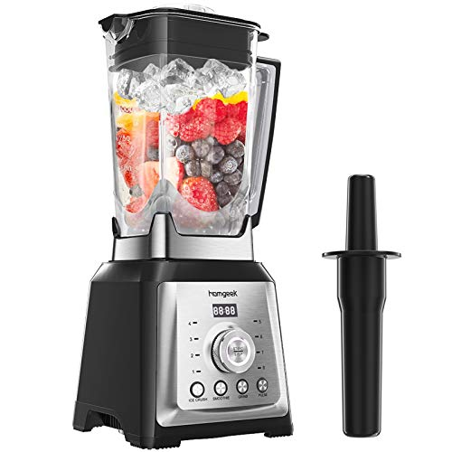 Professional Blender for Kitchen, homgeek 1450W High Speed Countertop Blender with 70oz Tritan Pitcher, Smoothies Blender Marker for Crushing Ice,...