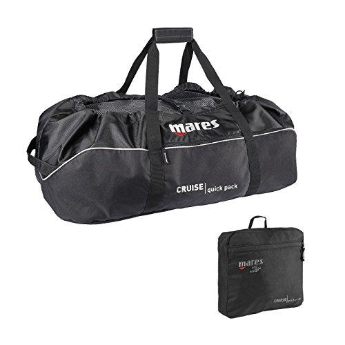 Mares Unisex-Adult Bag Cruise Quick Pack Koffer, Schwarz, 137 Liter