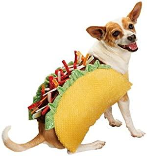 Bootique Taco Halloween Dog Costume,Small