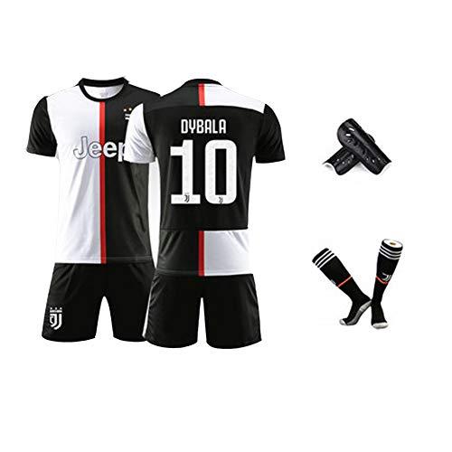 FNBA # 10 Fußballverein Fußball Jersey für Männer Kinder Dybala Fußball Jersey Training Shirts Hosen Kniestrümpfe gesetzt-1-XS