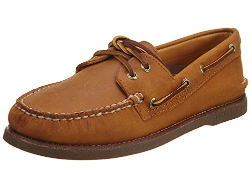 Sperry Men's Gold Cup Authentic Original 2-Eye Boat Shoe Brown Size: 6 UK