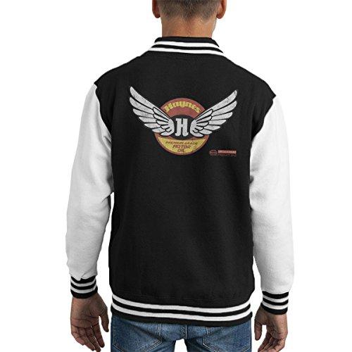 POD66 Haynes Brand Wings Premium Grade Motor Oil Kid's Varsity Jacket