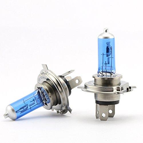 Ampoule de Phare H4 100W Ampoule Halogène Super Feux de Route HB2 9003 Voiture Lampe de Brouillard 12V Xénon Lumière Blanche