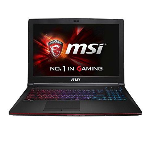 MSI GE62 2QE-035NL 4K 39,6 cm (15,6 Zoll) Laptop (Intel Core i7 4720HQ, 3GHz, 8GB RAM, 1TB HDD, Nvidia GF GTX965M, Win 8.1) schwarz