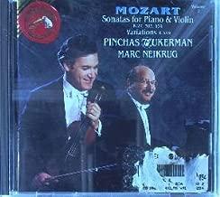 Mozart: Sonatas for Violin & Piano, Vol. 2: K. 27, 303, 454 & Variations K. 359