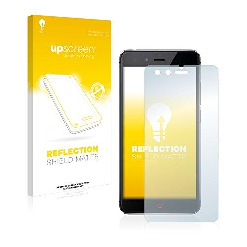 upscreen Entspiegelungs-Schutzfolie kompatibel mit ZTE Nubia Z11 Mini – Anti-Reflex Bildschirmschutz-Folie Matt