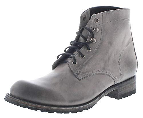Sendra Boots Herren Chukka Boots 10604 Piombo Schnürstiefel Lederschuhe Grau 44 EU