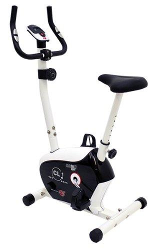 Christopeit Heimtrainer CL 1 - Bicicletas estáticas y de spinning para fitness ( 5 kg, imán, con pantalla )