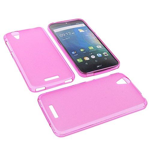 foto-kontor Tasche für Acer Liquid Z630 Liquid Z630S Liquid M630 Gummi TPU Schutz Hülle Handytasche pink