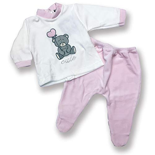 Character World Abbigliamento-Pigiama Ensemble De Pyjama, Rose (Rosa), 58 (Taille Fabricant: X-Small) Bébé garçon
