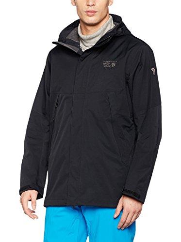 Mountain Hardwear Exposure, Parka da Uomo, Nero, S