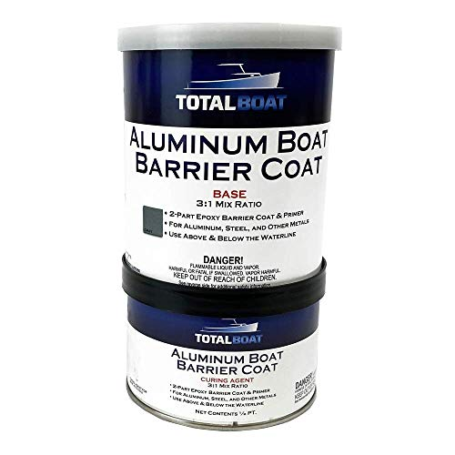 TotalBoat Aluminum Boat Barrier Coat (Quart, Gray)