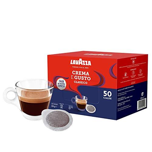 Lavazza Crema E Gusto Classico - Caffè Macinato Espresso in Cialde in Carta, 4 Confezioni Da 50 Cialde