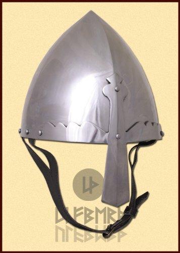 Nasal Casque – St. wence Lass en, 2 mm acier, Taille L – Vitrine lutte Casque de Ulf Berth®