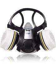 Dräger X-plore® 3300 Chemieset halfgelaatsmasker + 2x ABEK1 Hg P3 R D filters | Gasmasker voor chemische stoffen, toxische gassen | maat