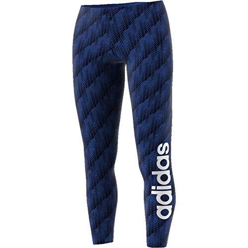 adidas Damen Commercial AOP Tights, blau, 2XS