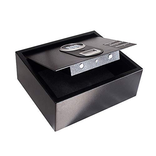 Elektronische kluis voor thuis Brandwerende Home Digitale Kluis Muur for Juwelen Kostbaarheden Kantoorkluis (Color : Black, Size : 41x35x15cm)