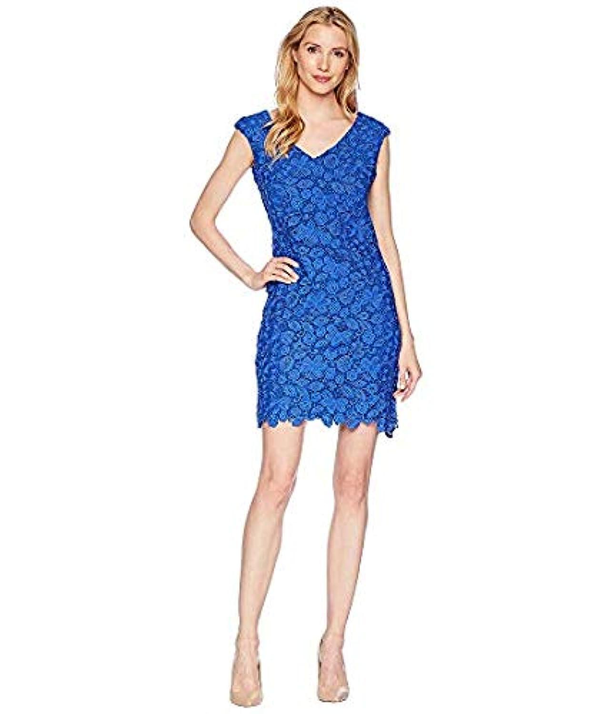 [LAUREN Ralph Lauren(ローレンラルフローレン)] レディースウェア?ジャケット等 Heiress Floral - Montie Dress Deep Lapis US 14 (XXXL) [並行輸入品]