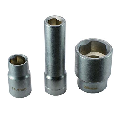 Steckschlüssel Nuß Kfz Werkzeug Nüsse für Bosch Verteiler Einspritzpumpen Diesel 3-tlg. 1/2