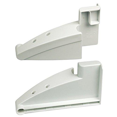 Liebherr Kühlschrank Gefrierschrank richtige links-Hand Mid Regal Tür Unterstützung Klammern