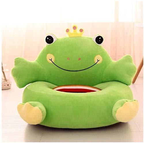Dibujos animados Sofá para niños, sillón para niños Stoollovely Little Frog Dibujos animados Sofá Sofá individual Lazy Sofa Bebé Comfort Asiento Toy Toys Soft Baby Asiento de cumpleaños para niños Reg