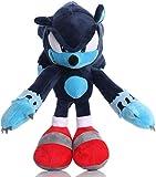 Anime Plush Sonic The Werehog Plush Doll Toys Black Blue Shadow Sonic Plush 30cm