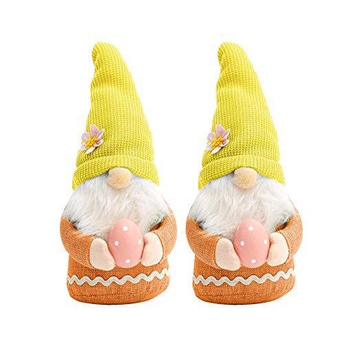 Easter Gnome Plush Doll Decorations Handmake Scandinavian Tomte , Party Celebrate Home Decor for Home & Garden , Easter St Patrick's Day Gifts (B)