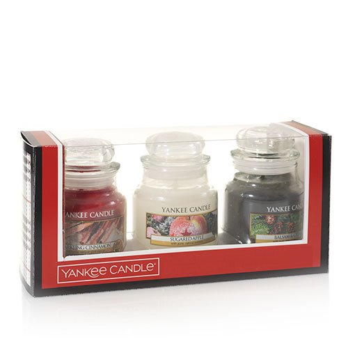 Yankee Candle Holiday Small Jar Trio Gift Set