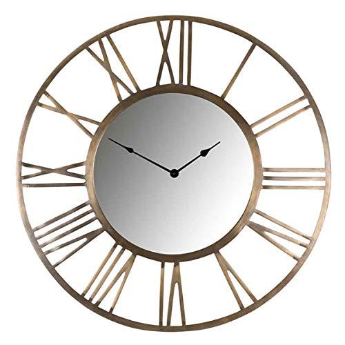 Richmond Interiors - Wanduhr - Uhr - Kaelyn - Metall - Maße (ØxT): 75 x 5 cm