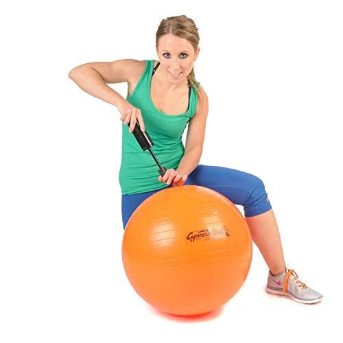 Original Pezzi Gymnastik Ball 53cm plus Pumpe Sitz Therapie Pilates orange
