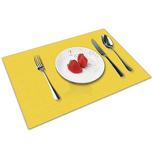 baowen Simpsons Marge - Juego de 4 manteles Individuales para Mesa de Comedor con Aislamiento Lavable, Resistentes al Calor, para Mesa de Cocina, 12 x 18 Pulgadas