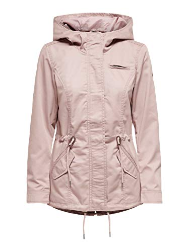 ONLY Female Jacke Leinen Parka XLAdobe Rose