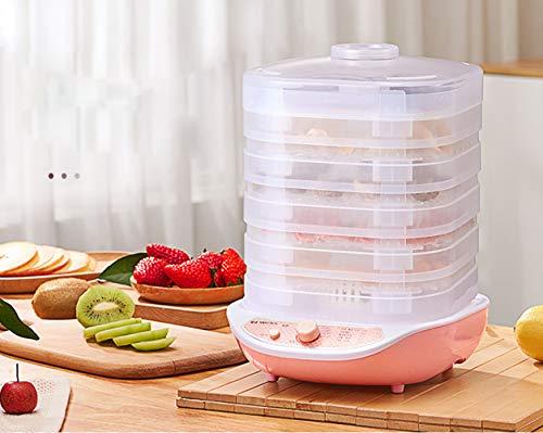 New WsHry Food Dehydrator, Fruit-Meat Dryer, Digital Dehydrator, Fruit Dryer Machine + Non Stick Tra...