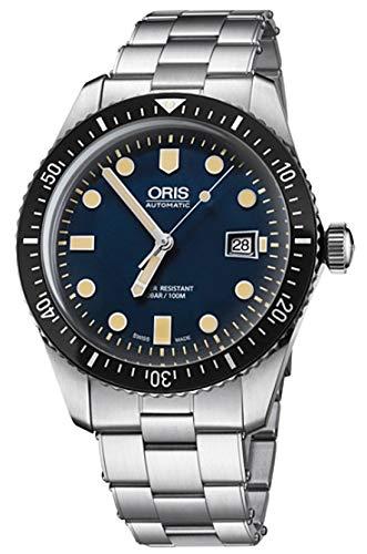 オリスジャパン正規3年保証 ORIS オリス 腕時計 ダイバーズ65 ネイビーカラーの文字盤 733.7720.4055M 自動巻