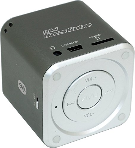 Jaytech 77002394 Bluetooth Mini Bass Cube SA101BT