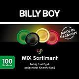Billy Boy Kondome Mix-Sortiment Aus Bunten, Perlgenoppten, Aromatisierten Und Extra Feuchten...