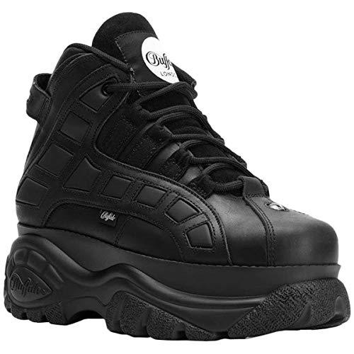 Buffalo London Classic Plateau Boots Leather Black 2003-14 (37 EU, Schwarz)