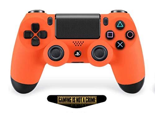 PS4 Pro Rapid Fire Custom Modded Controller Exklusive einzigartige Designs – CUH-ZCT2U (mehrere Designs erhältlich) (Soft Orange)